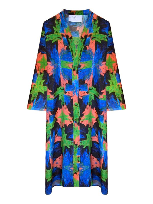 Moda lenta por Arena Martínez - hecha en España - Azzuro - Kimono - 1