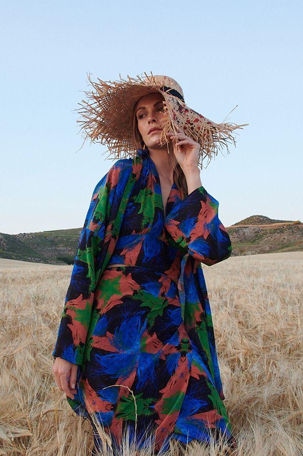 Slow fashion made in Spain - Arena Martínez - Fashion Trends - 2021 - Azzuro Kimono - 2