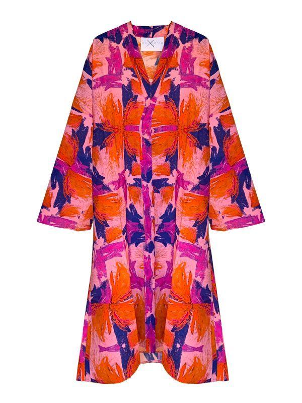 Slow fashion made in Spain - Arena Martínez - Fashion Trends - 2021 - Rosa Kimono