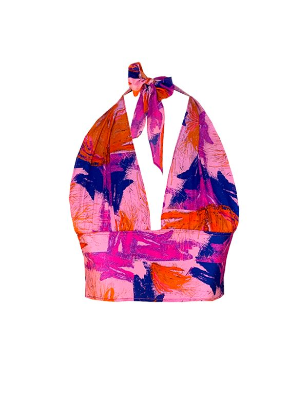Slow fashion made in Spain - Arena Martínez - Rosa - Top - 1