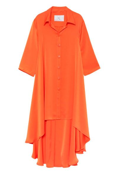 Slow fashion made in Spain - Arena Martínez - Alma Dress - Coral - 1