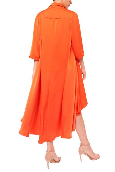 Slow fashion made in Spain - Arena Martínez - Alma Dress - Coral - 3