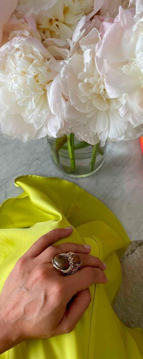 Slow fashion made in Spain - Arena Martínez - Home - Isabel Marind - Alma Lima Dress - 02